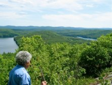 View from Bald Ledge