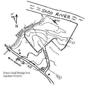 Map of Jagolinzer Preserve