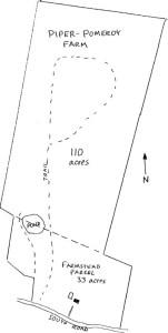 Map of Piper Pomeroy Farm