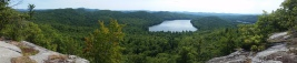 View of Colcord Pond from Bald Ledge - Porter (1)